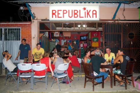 Bar Republika, San Juan de Sur Nicaragua