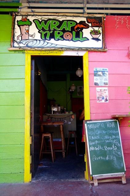 Wrap n Roll and Bad Ass Eats San Juan del Sur