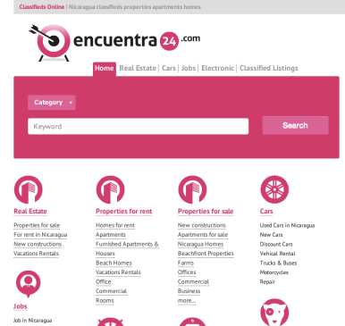 Classified Ads in Nicaragua