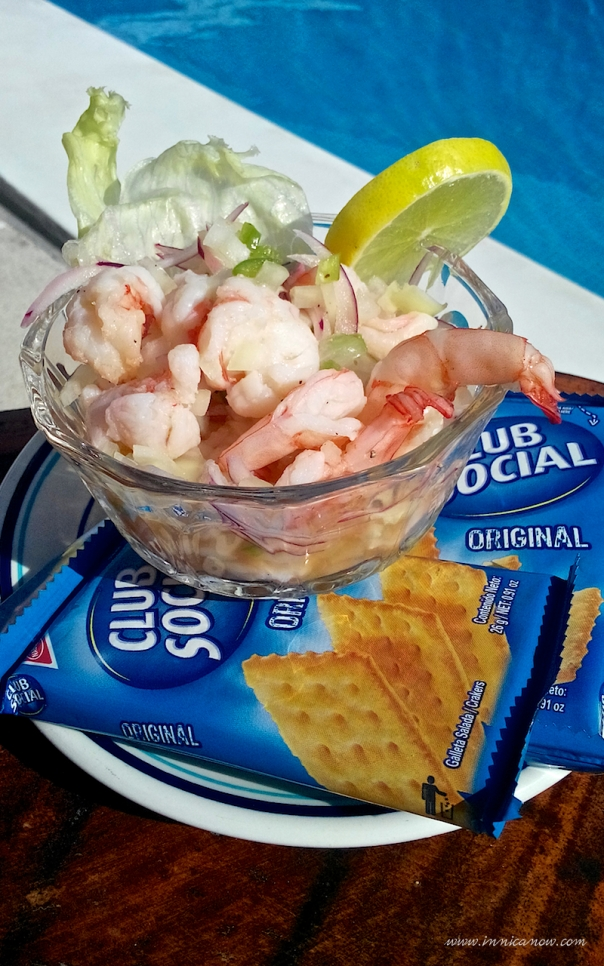 What I Ate Today: Ceviche de Camarones