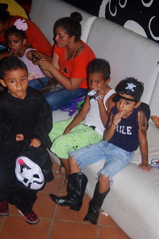 Celebrating Halloween in Nicaragua